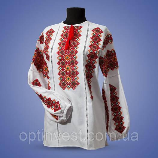 """Блуза  вишиванки """"Одарка"""" сорочкова тканина"""