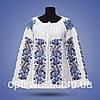 """Блуза - женская вышивка """"Колоски"""""""