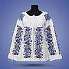 """Блуза - женская вышивка """"Колоски"""", фото 2"""