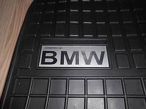 Килимки гумові на BMW 7 E65,66,67 логотип !!!