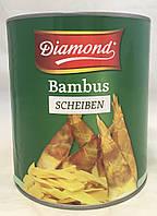 Бамбук побеги (нарезка полоски) Diamond 2950 г, фото 1