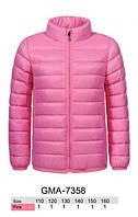 Куртка для девочек оптом, Glo-story, 110-160 см,  № GMA-7358, фото 1