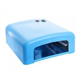 УФ лампа 818 для маникюра голубая