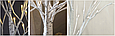 "Новогоднее декоративное дерево-гирлянда ""Береза"" 180 см 96 Led IP 44, фото 4"