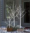 "Новогоднее декоративное дерево-гирлянда ""Береза"" 180 см 96 Led IP 44, фото 6"