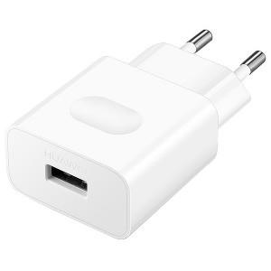 Сетевое зарядное устройство Huawei AP32 HiSilicon & QC 2.0 + Micro-USB White