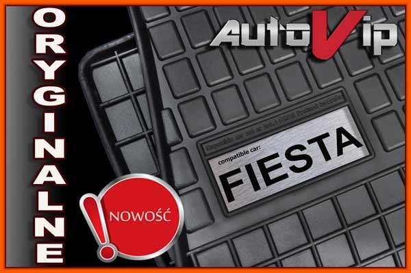 Резиновые коврики FORD FIESTA MK6 02-  с логотипом