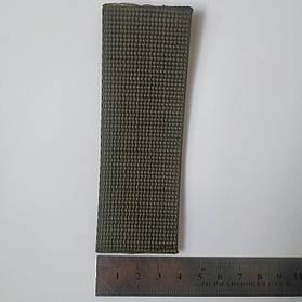 Лента ременная (тесьма, лямовка) 40мм Оливковая