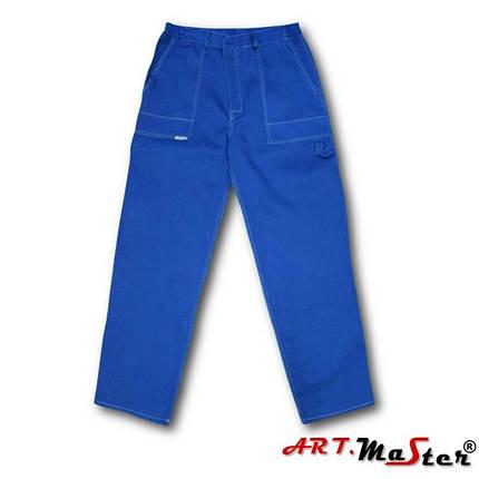 Штаны рабочие ARTMAS синего цвета SPODNIE COMFORT DO PASA n, фото 2