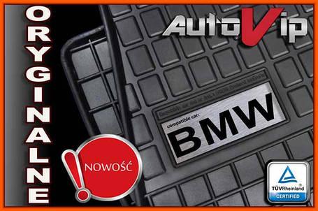 Резиновые коврики M-LOGO BMW X3 E83 03-  с логотипом, фото 2