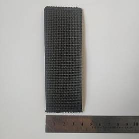 Лента ременная (тесьма, лямовка) 40мм Чёрная