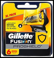 Лезвия Gillette Fusion Proshield упаковка 6 шт