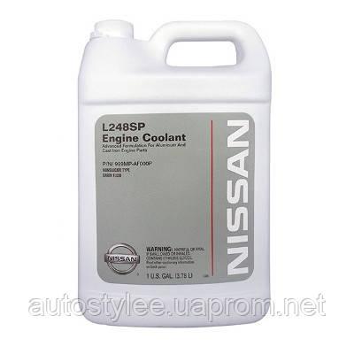 Антифриз Nissan Engine Coolant L248SP зеленый (999MP-AF000P) 4 л.