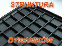 Резиновые коврики VOKSWAGEN TOURAN 2015-  с лого, фото 2