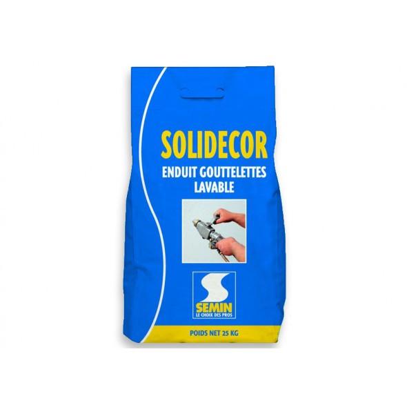 Декоративная штукатурка для стен и потолков SOLIDECOR LAVABLE