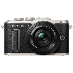 Цифровая фотокамера Olympus E-PL8 DZK 14-42 mm Pancake + 40-150 mm Black/Black