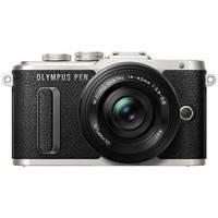 Цифровая фотокамера Olympus E-PL8 DZK 14-42 mm Pancake + 40-150 mm Black/Black, фото 1