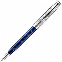 Ручка шариковая Parker Sonnet 17 SE Atlas Blue Silver PT BP 88 332, фото 1