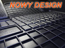 Резиновые коврики HONDA CRV CR-V 2007-  с лого, фото 3
