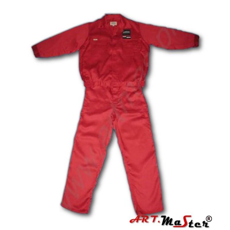 Профессиональная  рабочая одежда ARTMAS красного цветаCOMFORT czerwony
