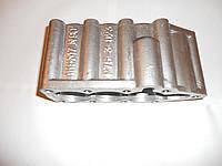 Крышка гидрораспределителя  Р-80 нижняя алюминиевая (3 секции) Р80-23.20.123