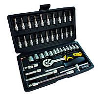 Набор ручных инструментов 46 шт Сталь 70014
