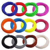Набір пластику для 3D-ручок ABS 1,75мм, 5м 15 кольорів