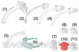Набор для трахеостомии Sumi с трубкой KAN без манжеты с фенестрацией р. 5.0-10.0