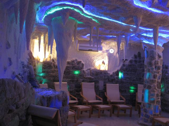 Строительство соляных комнат,солевых пещер,галокамер