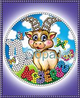 Схема для вышивки бисером Знаки зодиака.Козерог КМР 6014