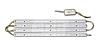 Набор для производства офисного светильника армстронг на основе светодиодов Gi Li 64W
