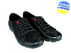 Мужские классические кожаные туфли  mida 31110ч черные   весенние