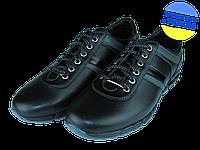 Мужские классические кожаные туфли  mida 11755ч.сер черные   весенние , фото 1