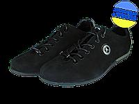Мужские классические кожаные туфли  mida 11971нуб.ч черные   весенние , фото 1