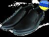Мужские классические кожаные туфли  mida 11621ч черные   весенние