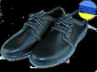 Мужские классические кожаные туфли  mida 11465ч черные   весенние , фото 1