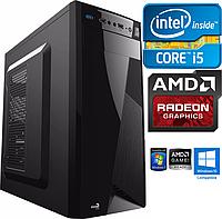 Игровой Системник Intel i5 4x3.4GHz ОЗУ 8Gb Radeon RX560 4Gb 500Gb HDD+SSD, Компьютер, ПК