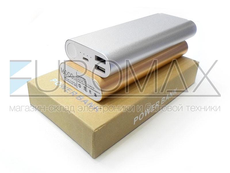 Внешний аккумулятор (power bank) Xiomi 16000мАч (6000мАч) JS-32