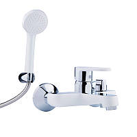 Смеситель для душевой кабины - ванны Potato P30223-7 короткий (к.35)