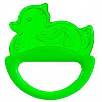 Погремушка-зубогрызка уточка (салатовая), Canpol babies (13/107-1)