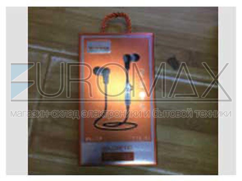 Наушники вакуумные с микрофоном металл Bluetooth SN-009