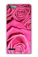 Чехол для Huawei Ascend G6-U10 (Розовые розы)