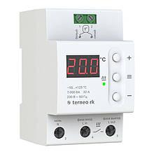 Терморегулятор terneo rk на 32 А белый