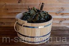 Шайка дубовая для бани и сауны 20 литров, фото 3