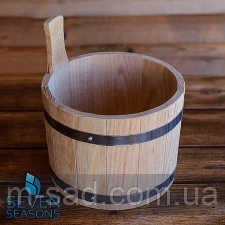 Ковш для бани 5 литров, фото 2