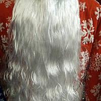 Борода Деда Мороза большая 80*30см
