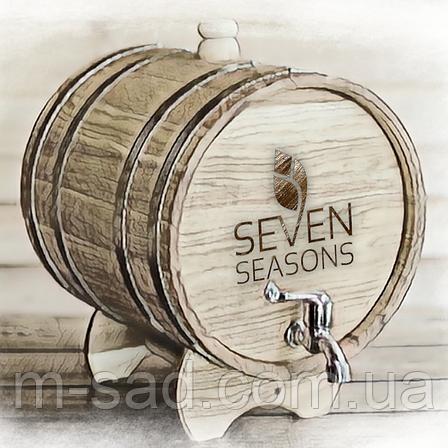 Бочка дубовая (жбан) для напитков Seven Seasons™, 15 литров латунь, фото 2