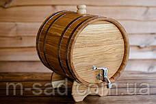 Бочка дубовая (жбан) для напитков Seven Seasons™, 40 литров, Пластик, фото 3