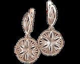 Серьги серебряные Женева 41264, фото 2