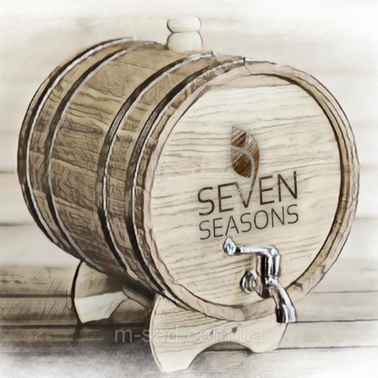 Бочка дубовая (жбан) для напитков Seven Seasons™, 100 литров, Пластик